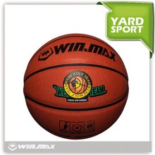 Winmax brand new arrival practice official PVC PU basketbal size 7 pvc laminated basketball