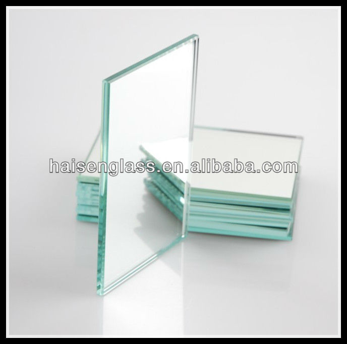 Superior aluminum looking glass mirror