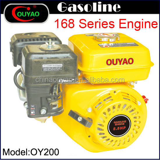 small gasoline engine air-cooled OHV 4 stroke 6.5HP