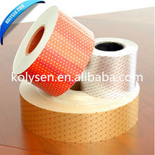 colored cigarette foil roll aluminum foil laminated paper