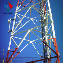 Telecom WIFI GSM Microwave 60m Triangular Lattice Tower