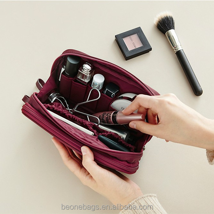 Super Capacity PU Leather MakeUp Brush Bag Organizer