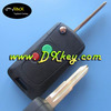 The biggest discount for proton flip key 2 buttons replacement flip remote key shell with logo Left key blade