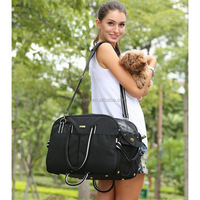 Top level competitive price two use potable shoulder bag dog pet bags