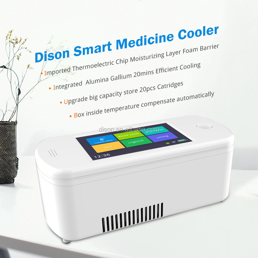 Dison New Mini Portable Insulin Cooler battery powered diabetic Fridge