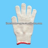 Safety Gloves, Measures 22 to 25cm, Made of 100% Cotton,knit glove
