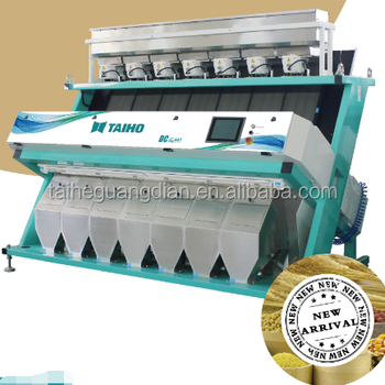 TAIHO High LED CCD Color Sorter Machine for Wheat