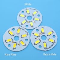 Free sample SMD5730 LED PCB 2W 3W 20mm 23mm 32mm 40mm 44mm Light Source led pcb board round and driver for Led Bulb