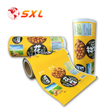 China PE Material Laminated Plastic Food Packaging Film Roll for Powder