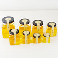 50ml~730ml jam/honey/food packing square glass jar