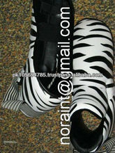 Zebra Printed KickBoxing Boxing Shoes