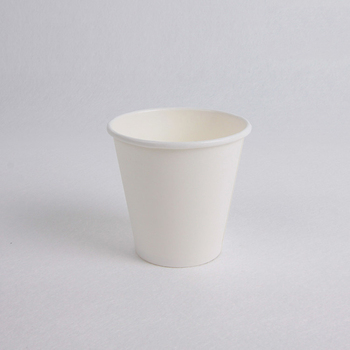Plain white paper cup paper coffee cups for vending machine