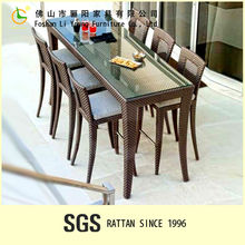 Aluminum Designer bar table and chairs for Bar Furniture LG-BS2666