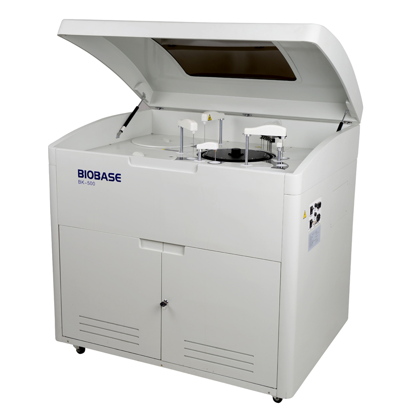BIOBASE Medical and lab equipment high speed 400 test per hour fully automatic blood test machine biochemistry analyzer