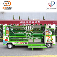 Popular Multi-function Mini Food Truck /Vegetable Carts Designs/ Mobile Candy Cart For Sale