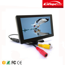 Multifunctional 4.3 inch mini car roof mount lcd tv video monitor for wholesales