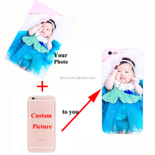 DIY Phone Case Customize design Photo TPU&PC cover Plastic Custom Printed Photo Case for iphone 5 5s 6 6s 6plus 7plus