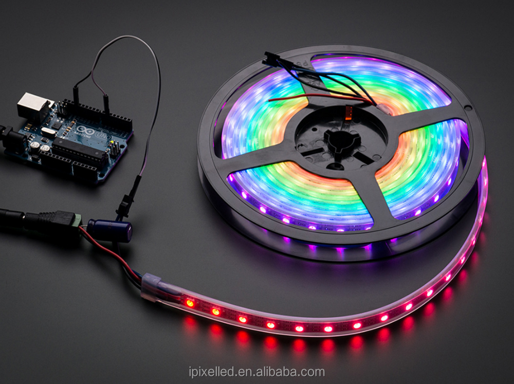 60leds/m video led strip addressable digital led strip with 2812B