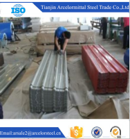 Trade assurance red roofing tile/Colored corrugated Galvanized Sheet for roof and wall alibaba website