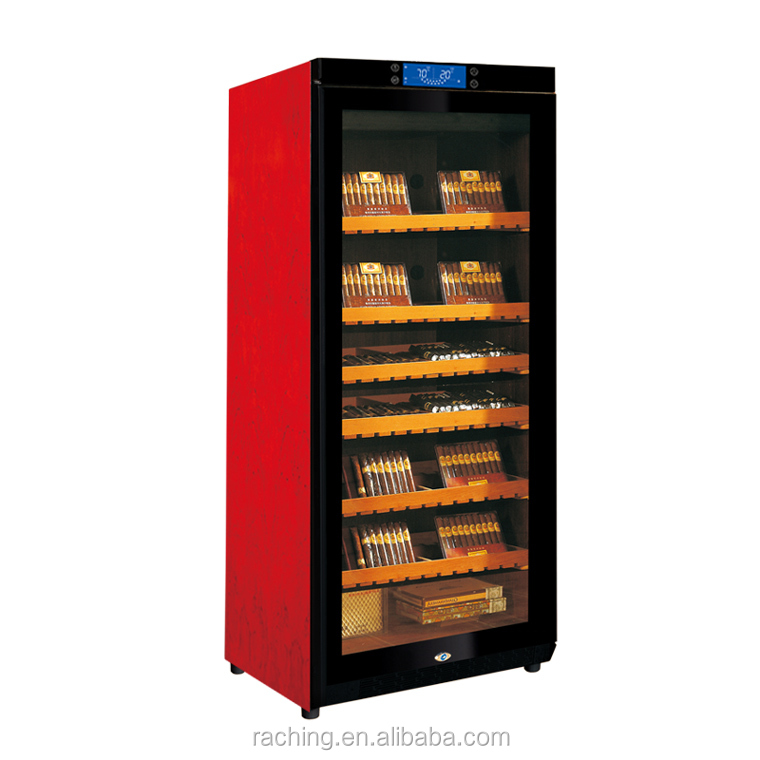 Thermoelectric Cigar Humidor Cooler with double glass Door