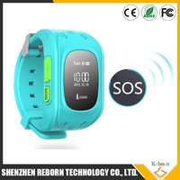 2015 newest products GPS SOS tracker Kids Smart phone wrist Watch