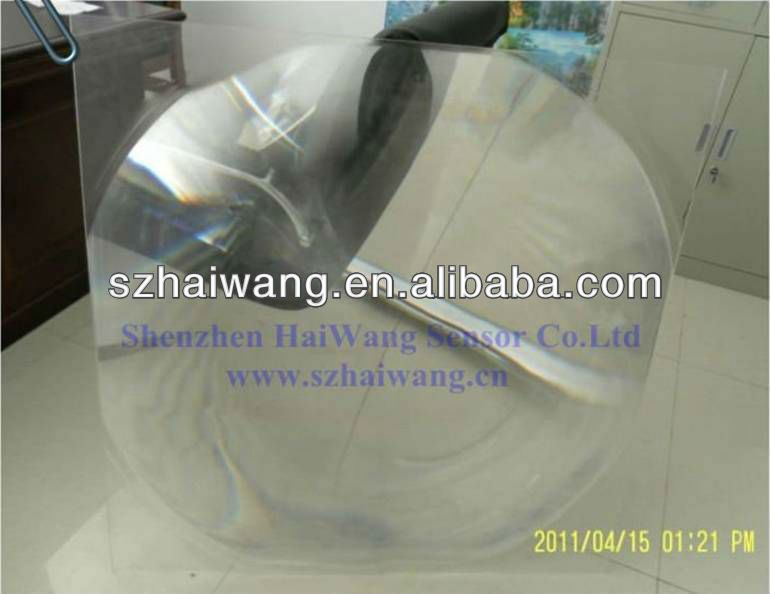 HW-F1000-5 1*1m High power fresnel lens for solar energy