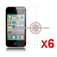 6X Matte Screen Protector Cover for Apple iPhone 4S 4G 4