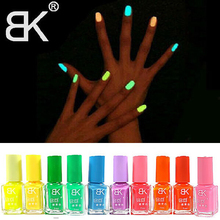 20COLOR Fashion Fluorescence Candy Color Quick Dry Nail Polish Night Luminous Nail polish Set Finger Nail Art for Beauty Tool