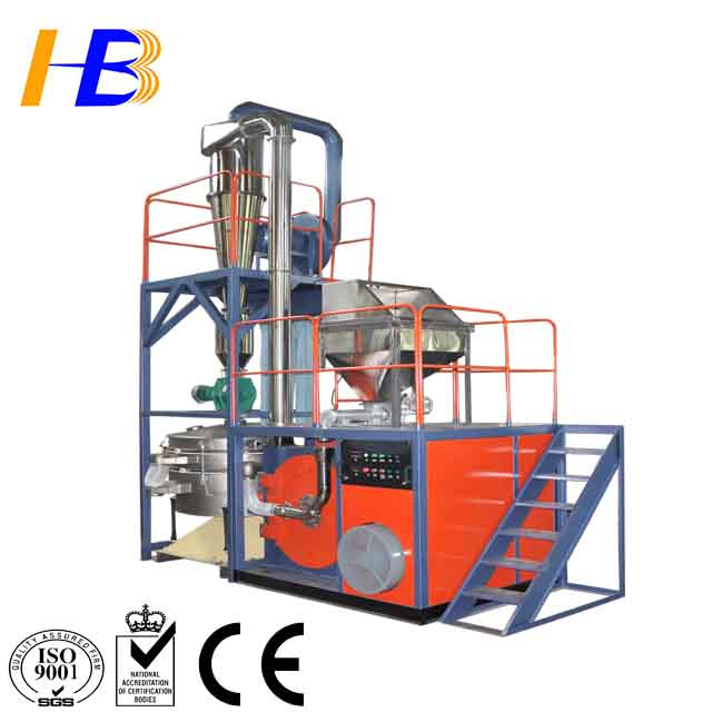 Huibang Full Automatic PP PE LDPE HDPE Plastic Pulverizer