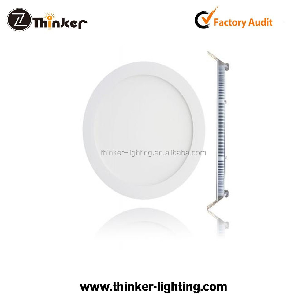 Thinker Cheap led ceiling panel light modern 24w round square led panel