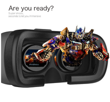 3D VR Virtual Reality Glasses Video Movies Comfortable Headset Adjust VR BOX