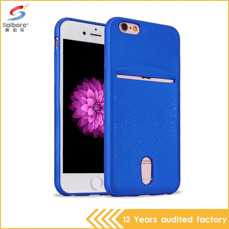High quality soft tpu crystal phone case for iPhone 6S