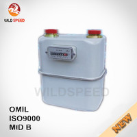 Domestic Household Steel Case Diaphragm Gas Meter G4
