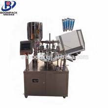 factory price semi automatic soft tube filling and sealing machine