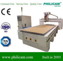 One time finish Milling Engraving Cutting no need operator SG1325 ATC -atc cnc router 4 axis