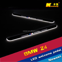 LED light stainless Auto Accessories /car welcome pedal sill plate/ scuff plate/LED Door sill for BMW Z4 2004-2008