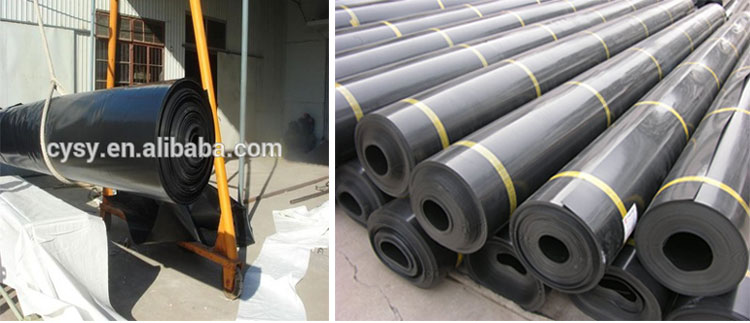 Aquaculture widely used epdm blue fish pond liner hdpe for Blue koi pond liner