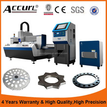 1000W 4mm stainless steel cnc laser cutting machine