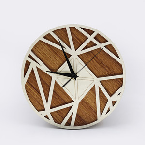 exquisite wood wall clock for home wall decoration