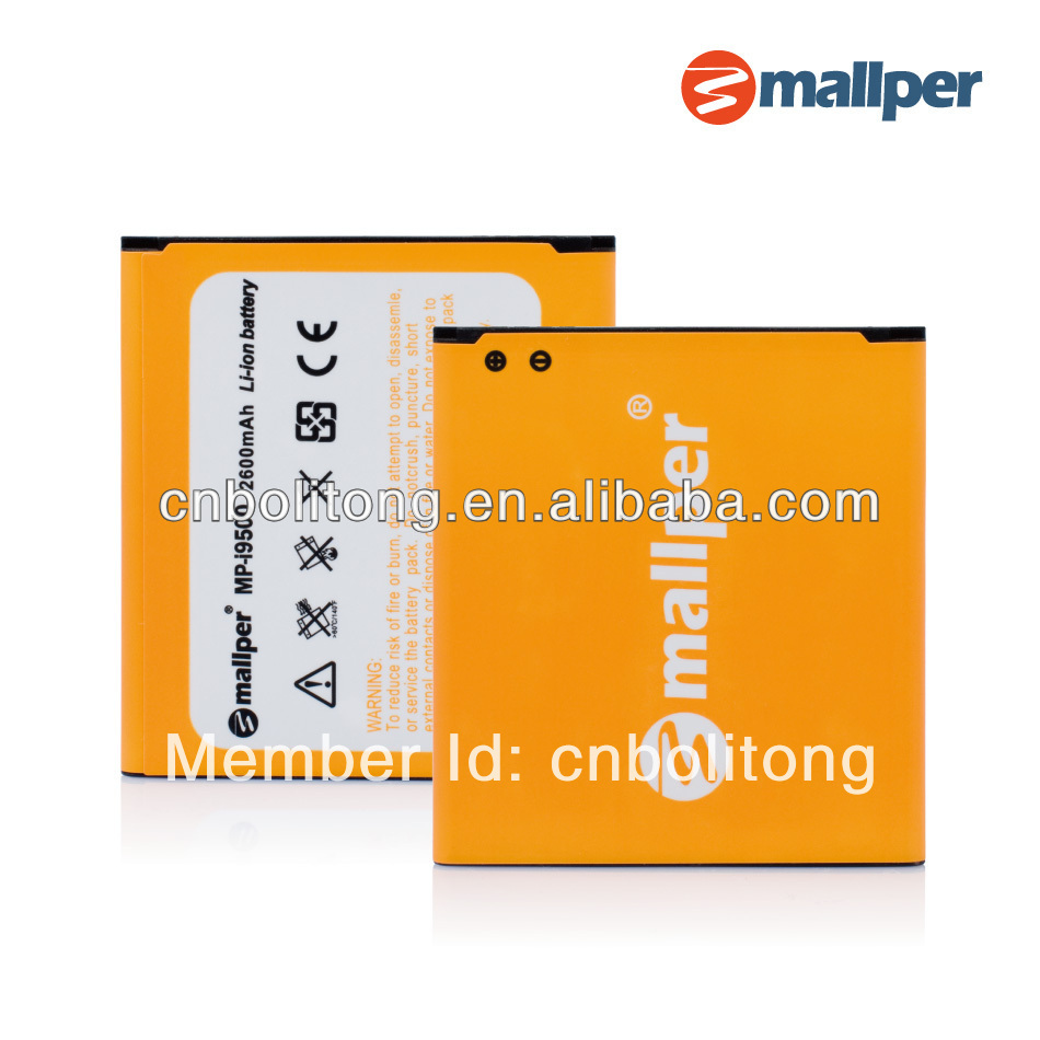 B600BC battery for Smartphones i9500 battery Galaxy S4 battery 2600mAh