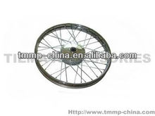 TMMP CG125 Motorcycle front wheel rim assy(with bearing, without drum cover) [MT-0449-651A3-F],high quality