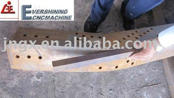 CNC bending machine for plate and angles for angle steel tower