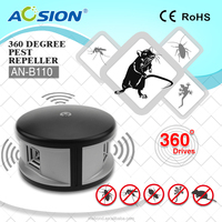 Different Adapter Wearhouse 360 Degree Ultrasonic Pest Reject /Ultrasonic Mice And Cockroaches Repeller