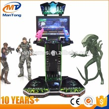 china factory Aliens arcade shooting game machine simulator machine manufacturer