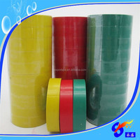 Glossy surface colorful pvc electrical insulation tape