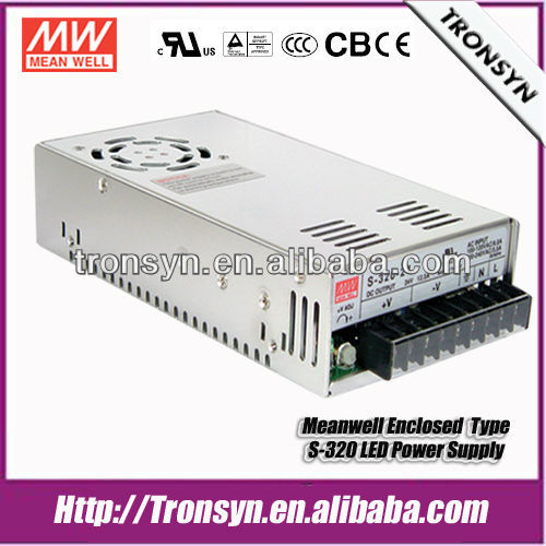 Meanwell S-320-24 Single Output AC DC Power Supply 320W 24V 12.5A SMPS Power Supply Circuit