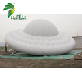 Commercial Inflatable Helium UFO Custom Magic Inflatable UFO With Clear Printing For Advertisement
