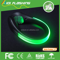 Flashing colourful led light clip for shoe decoration