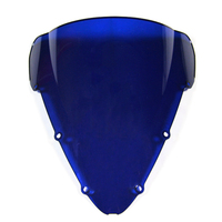 Tinted Double Bubble Farings Part Injection ABS Windshield For Motorcycle Honda CBR600 F4i Year 2001 - 2007 Windscreen