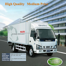 2016 new Isuzu 600P light duty finished van truck factory